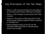 key principles of the ten steps