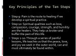 key principles of the ten steps79
