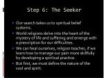step 6 the seeker65