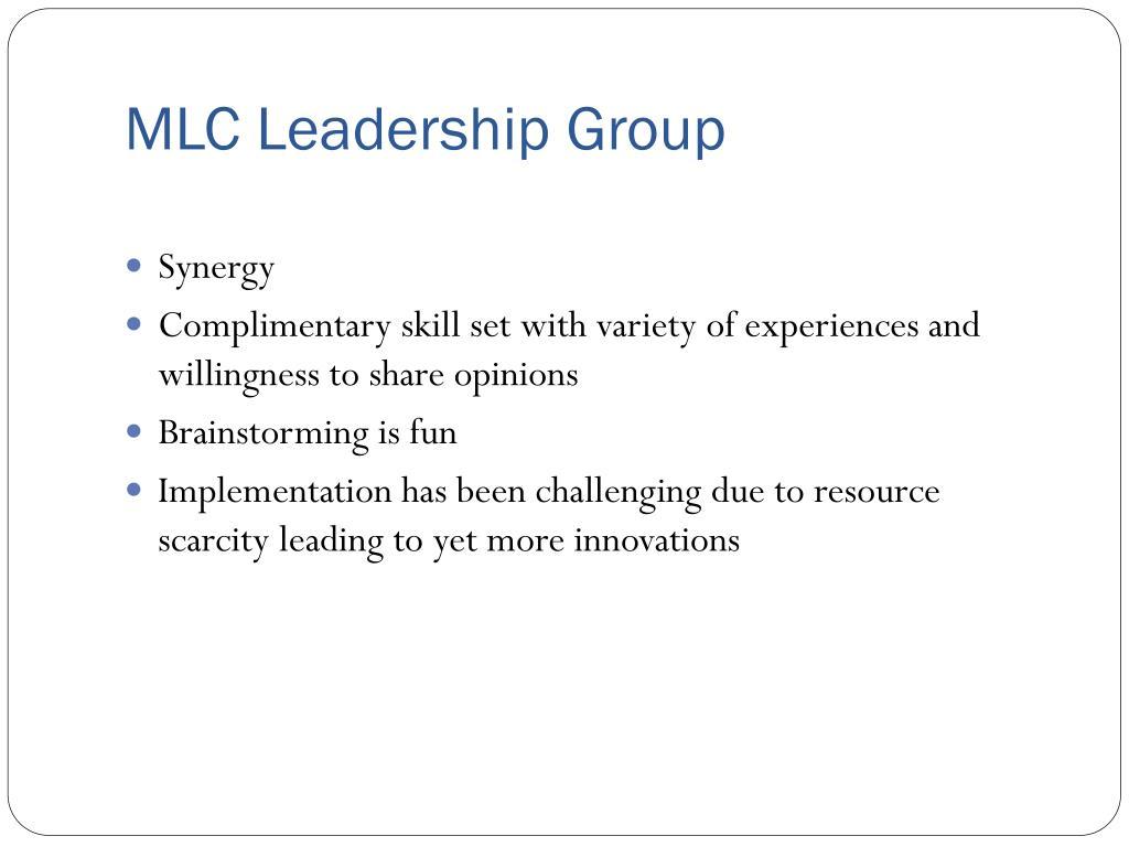 MLC Leadership Group
