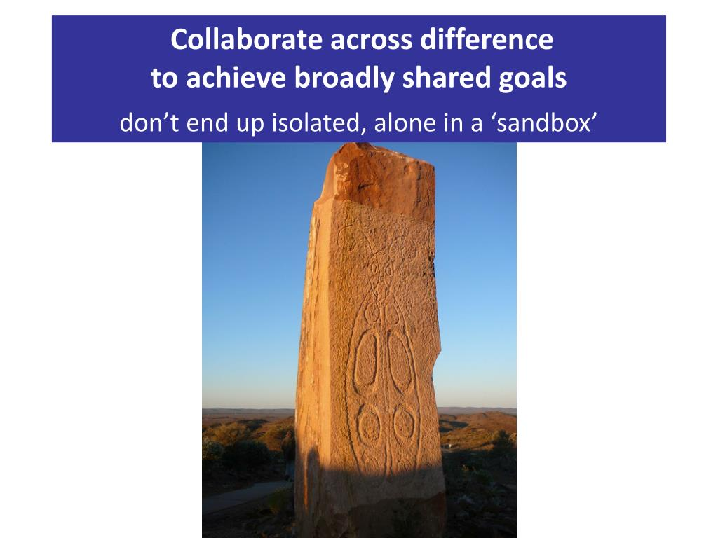Collaborate across difference