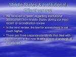 middle states institutional effectiveness
