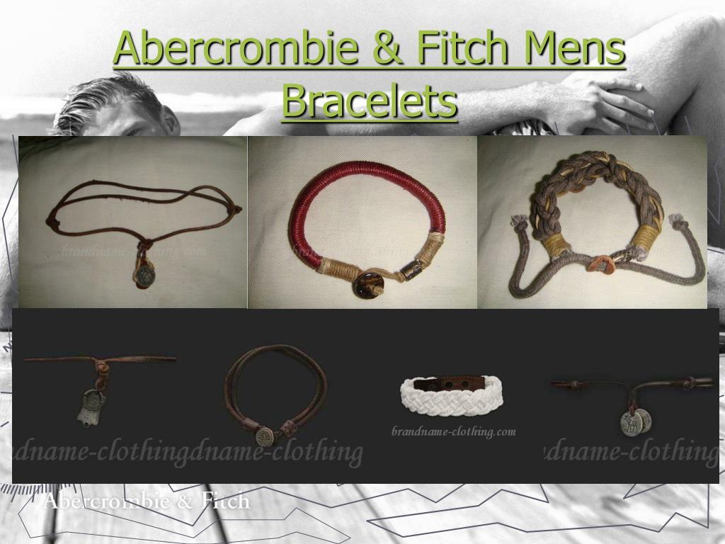 abercrombie fitch mens bracelets l.