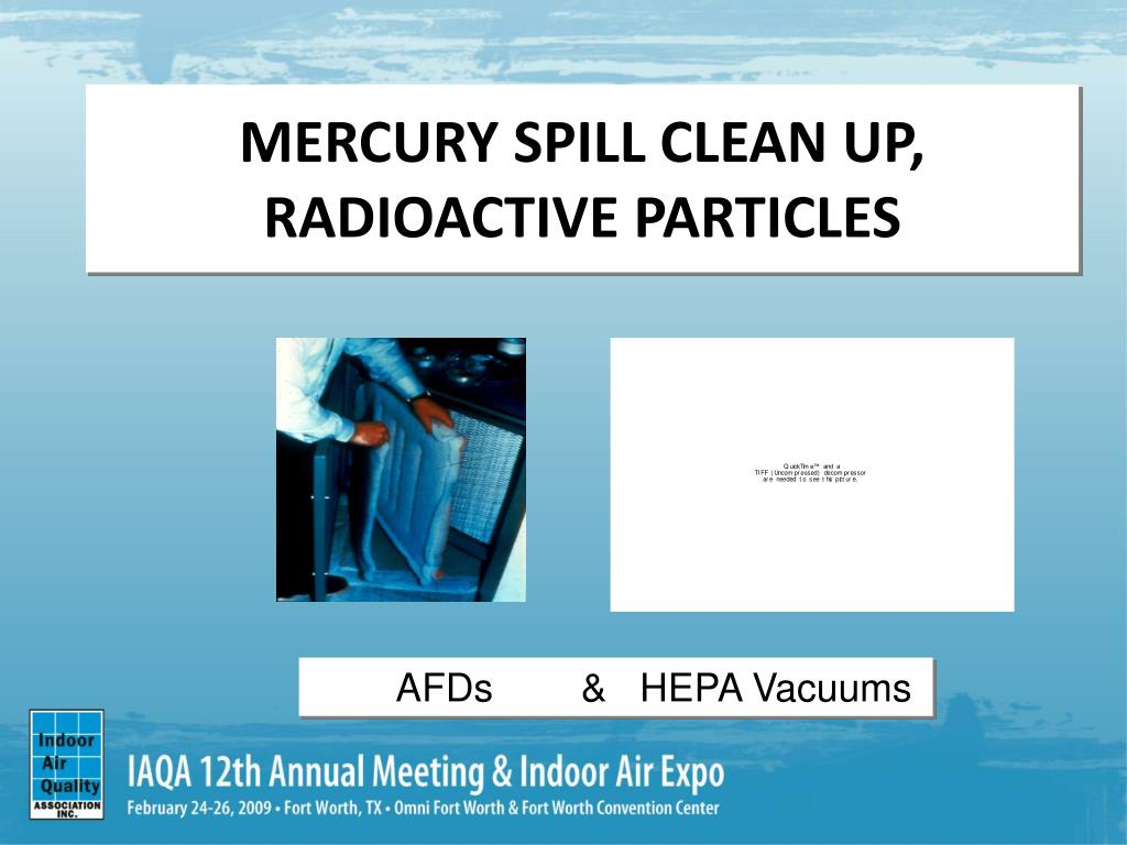 MERCURY SPILL CLEAN UP,