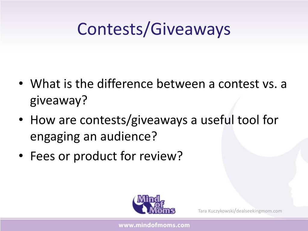 Contests/Giveaways