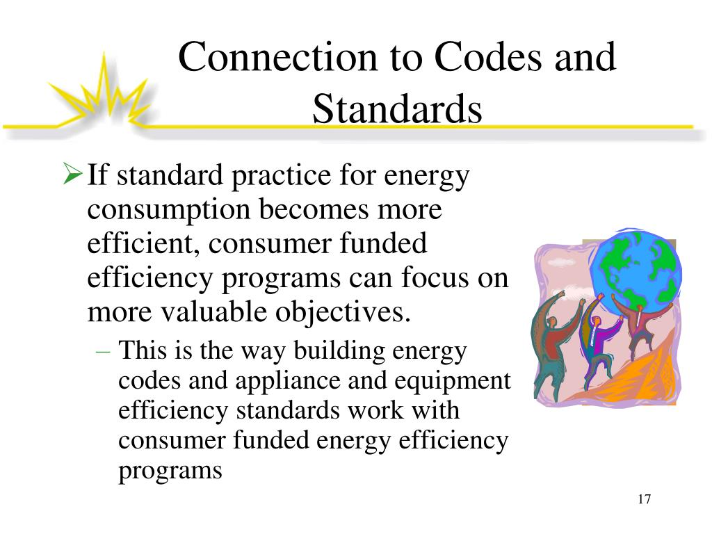 Connection to Codes and Standards
