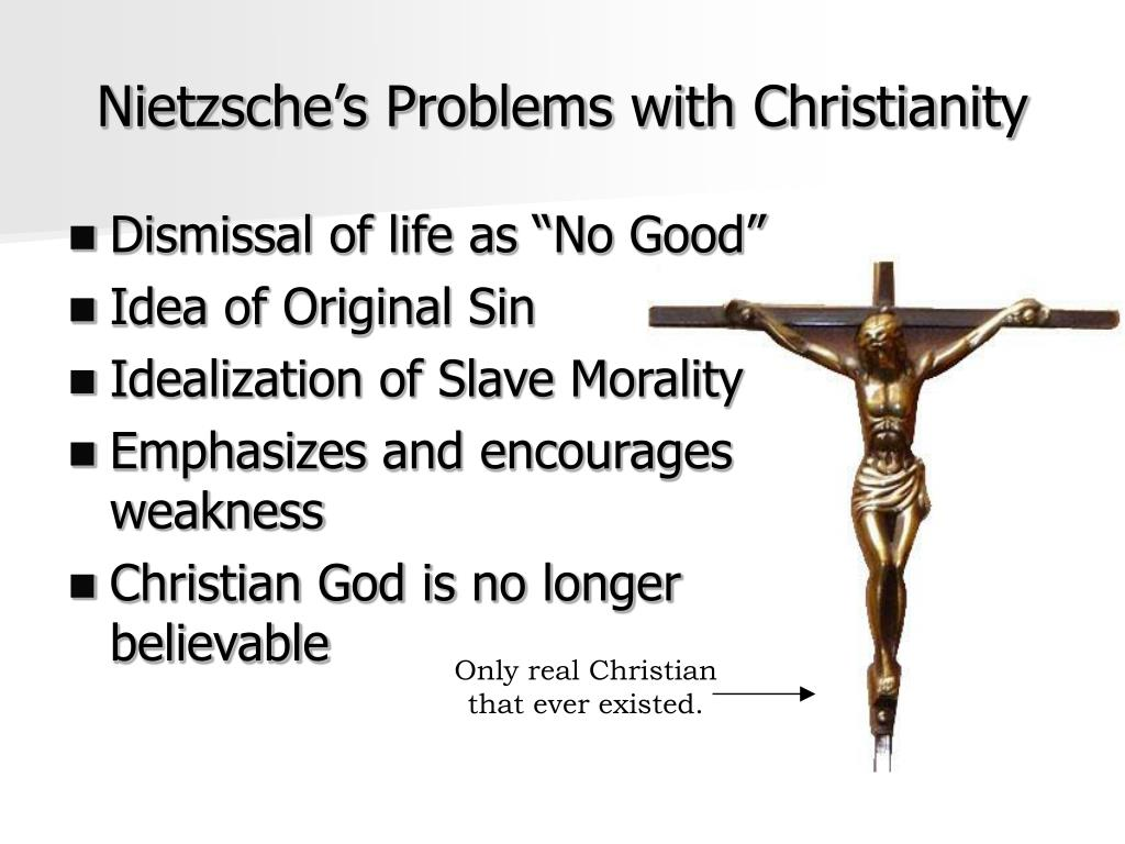 a study of master and slave morality by nietzsche Master–slave morality is a central theme of friedrich nietzsche 's works, in particular the first essay of on the genealogy of morality nietzsche argued that there were two fundamental types of morality : 'master morality' and 'slave morality.