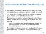 trade in the heckscher ohlin model cont39