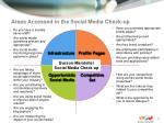 areas accessed in the social media check up