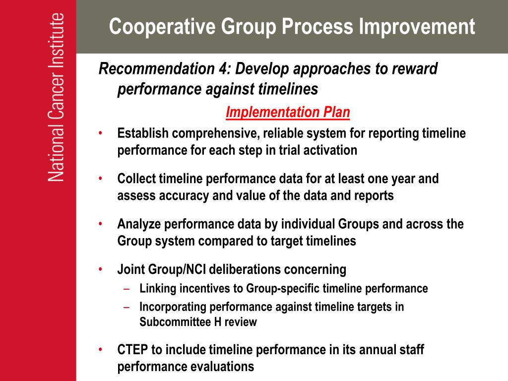 Cooperative Group Process Improvement