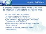 world live web