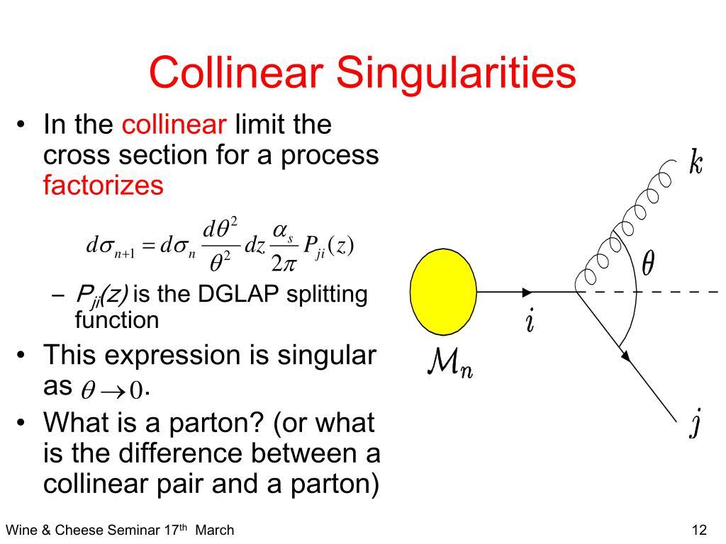 Collinear Singularities