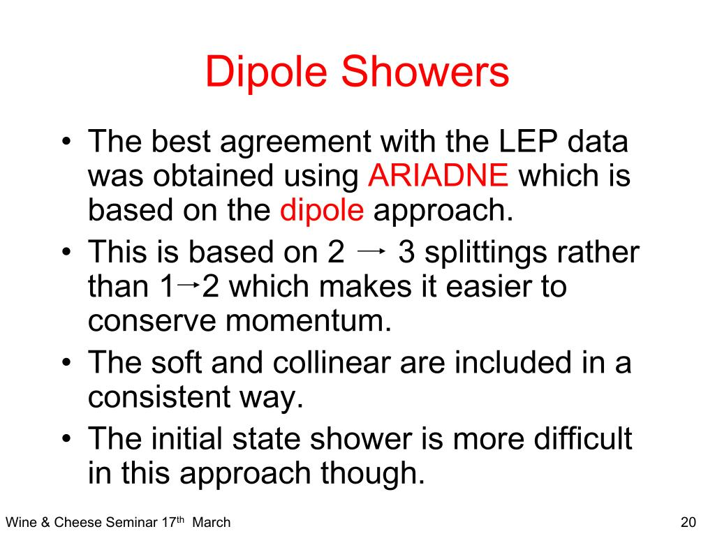 Dipole Showers