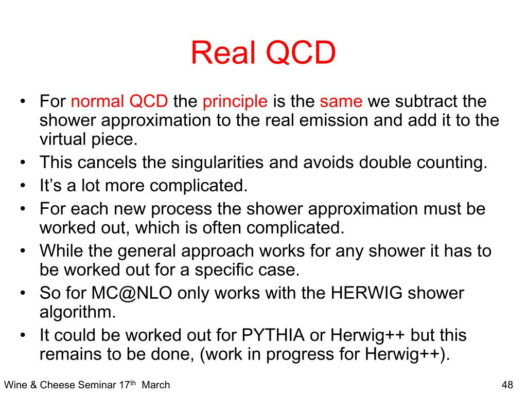 Real QCD