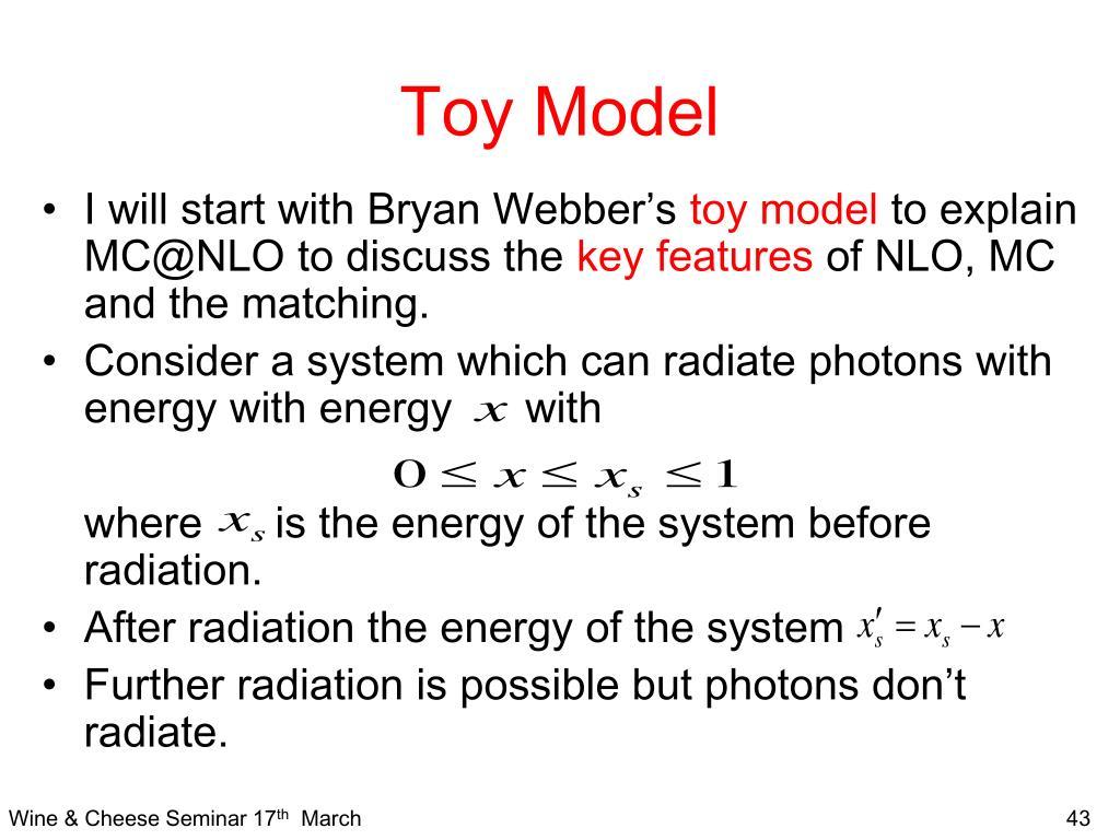 Toy Model