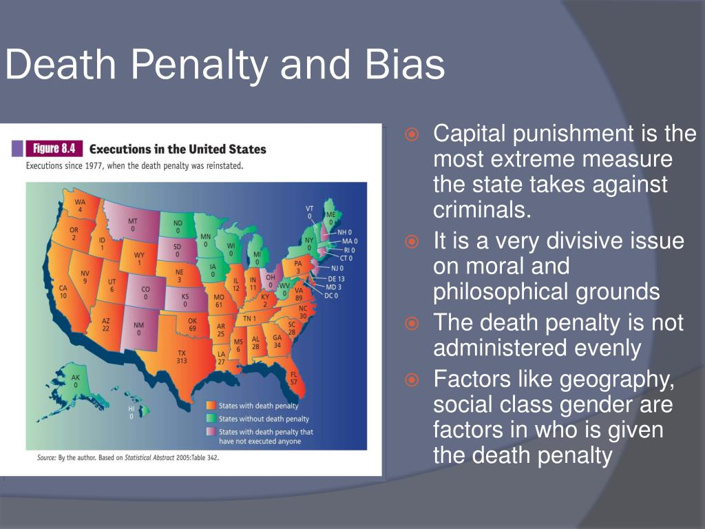 Death Penalty and Bias