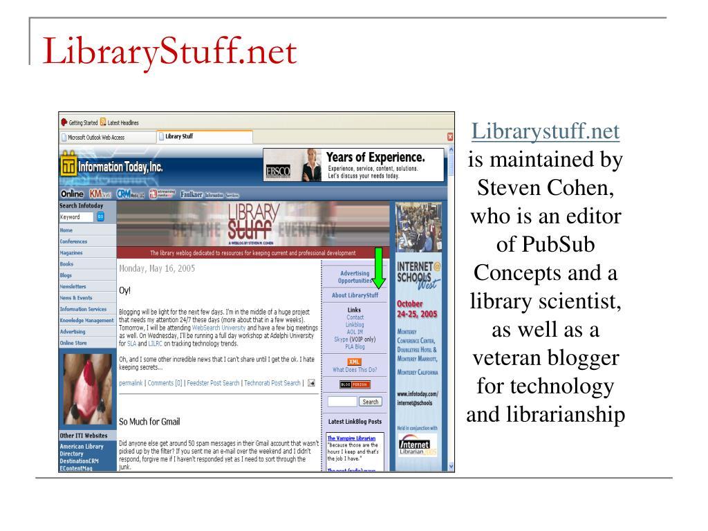 LibraryStuff.net