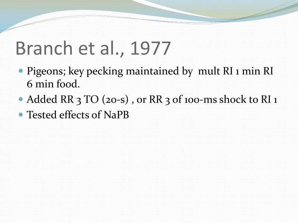 Branch et al., 1977