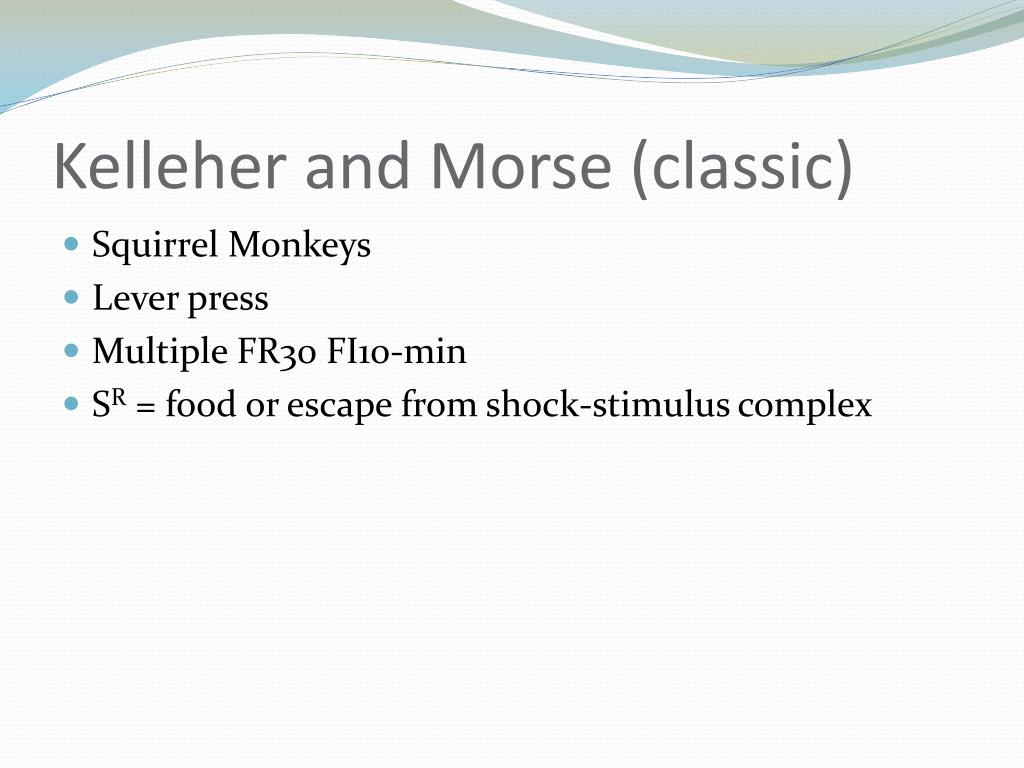 Kelleher and Morse (classic)