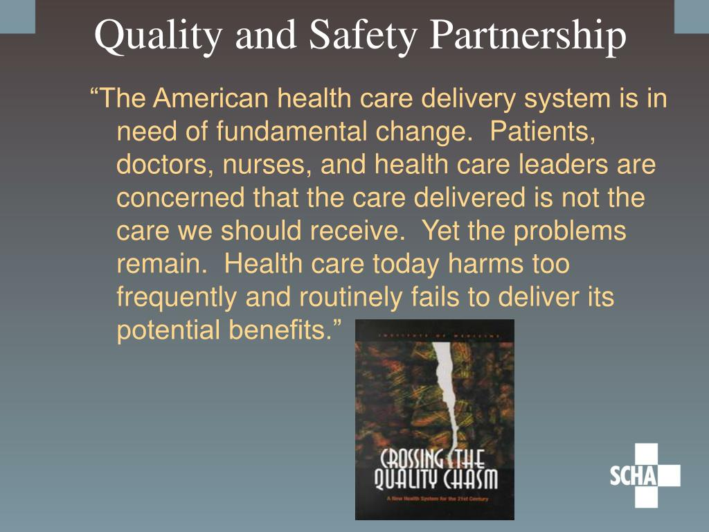 Quality and Safety Partnership