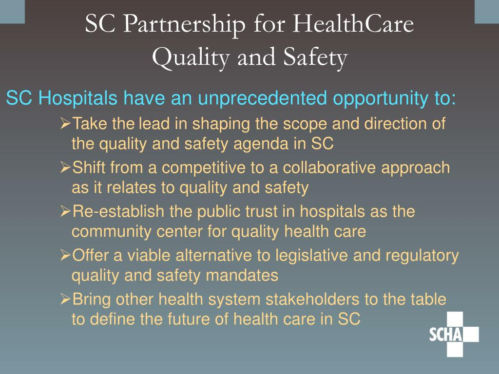 SC Partnership for HealthCare