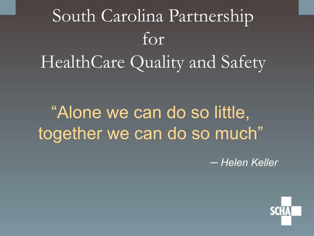 South Carolina Partnership