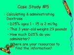 case study 5115