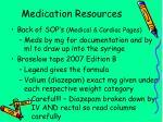 medication resources