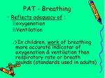 pat breathing