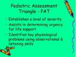pediatric assessment triangle pat