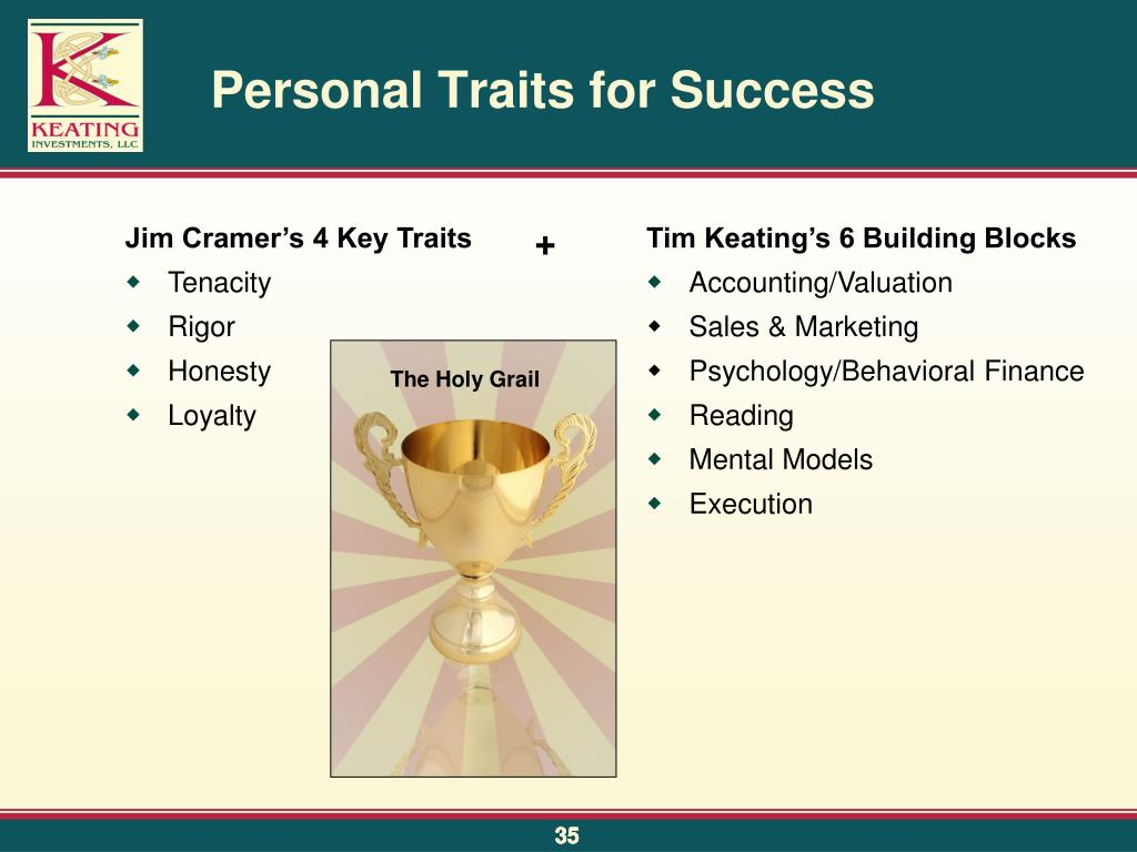 Personal Traits for Success