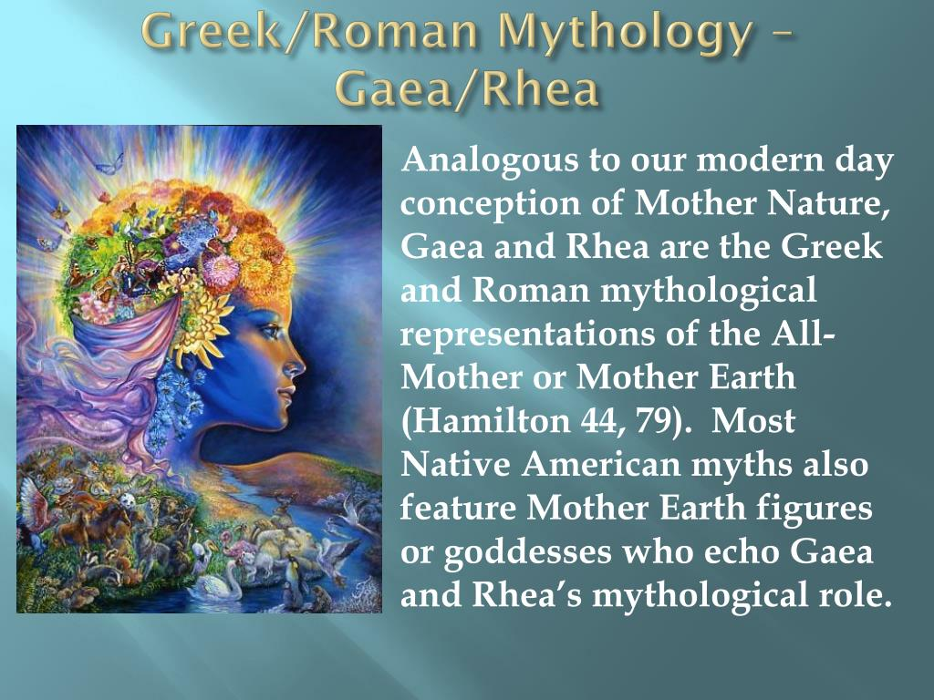 Greek/Roman Mythology – Gaea/Rhea
