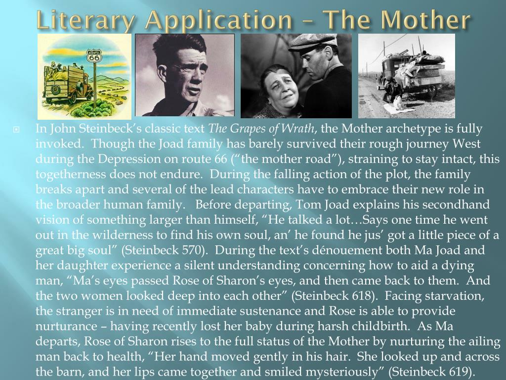 Literary Application – The Mother