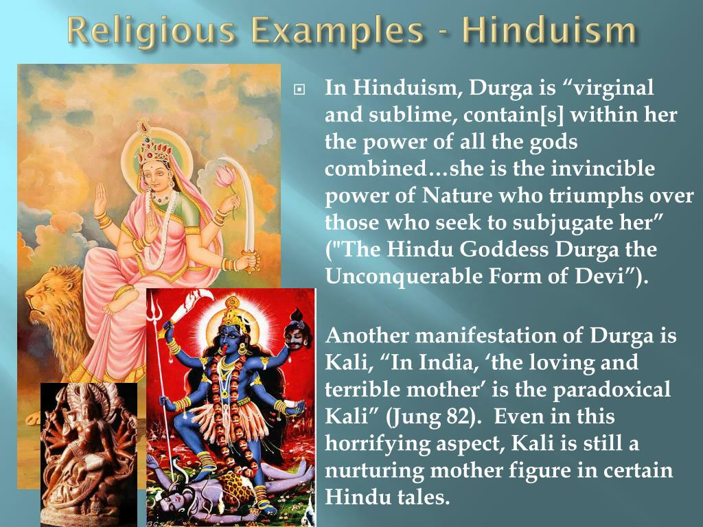 Religious Examples - Hinduism