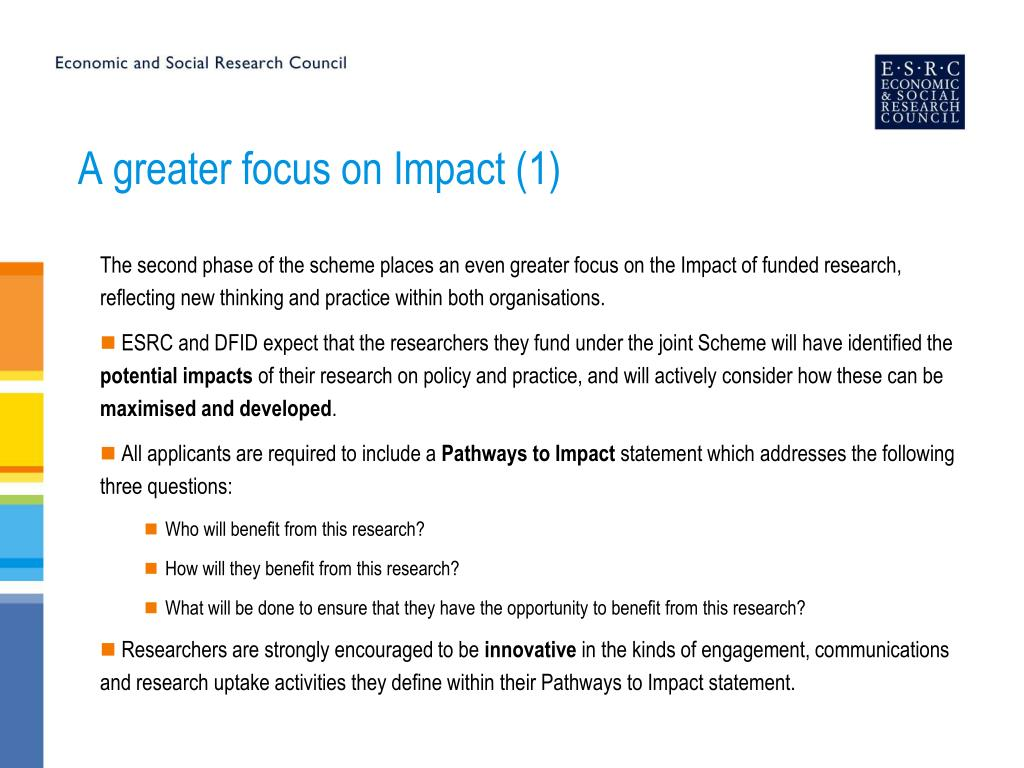 A greater focus on Impact (1)