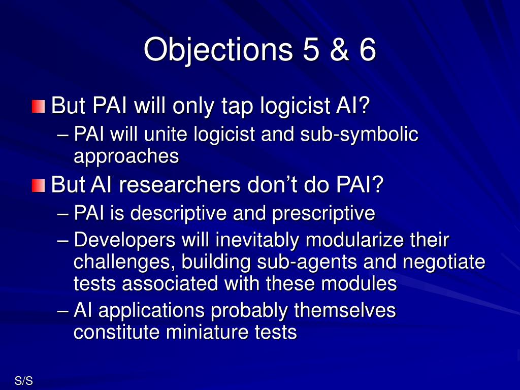 Objections 5 & 6