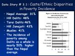 data story 3 1 caste ethnic disparities in poverty incidence