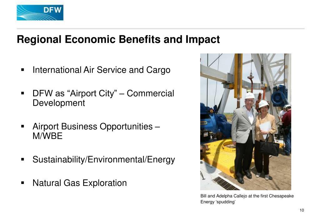 Regional Economic Benefits and Impact