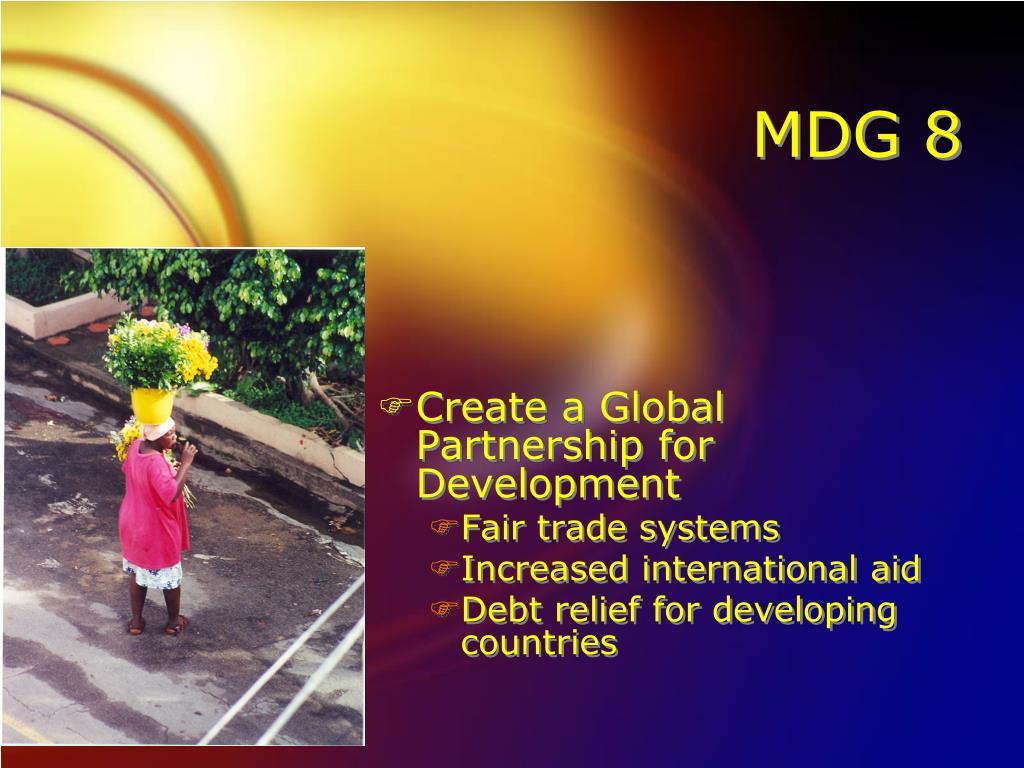 MDG 8