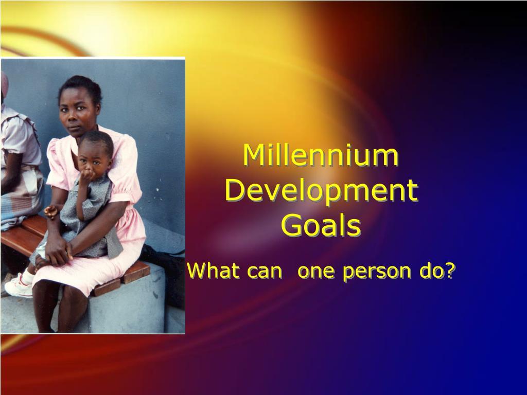 Millennium      Development