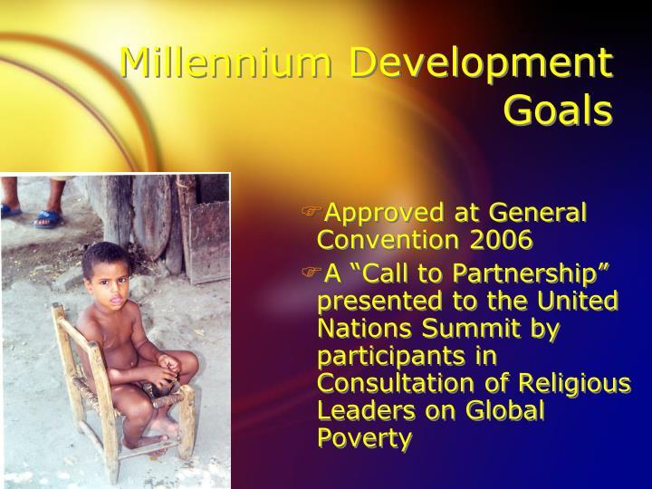 Millennium development goals2