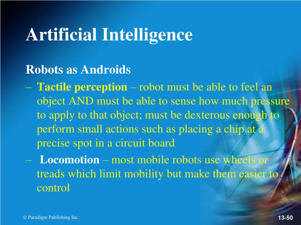 Robots as Androids