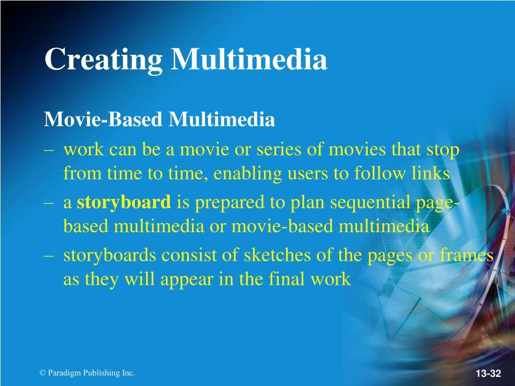 Movie-Based Multimedia