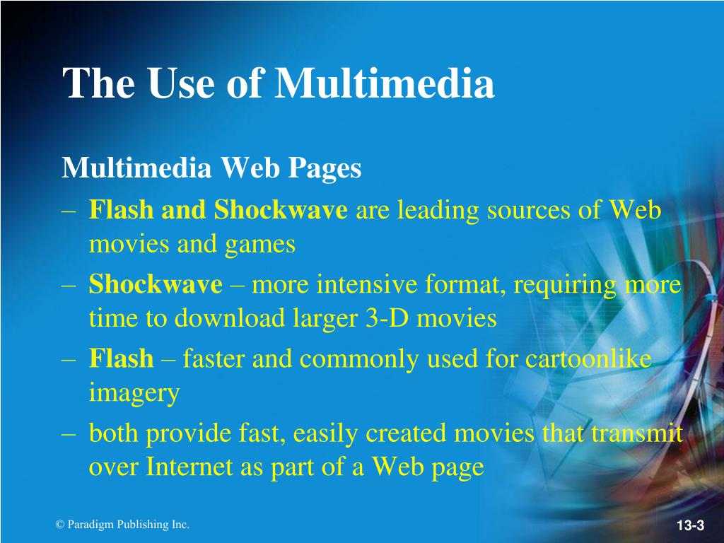 Multimedia Web Pages