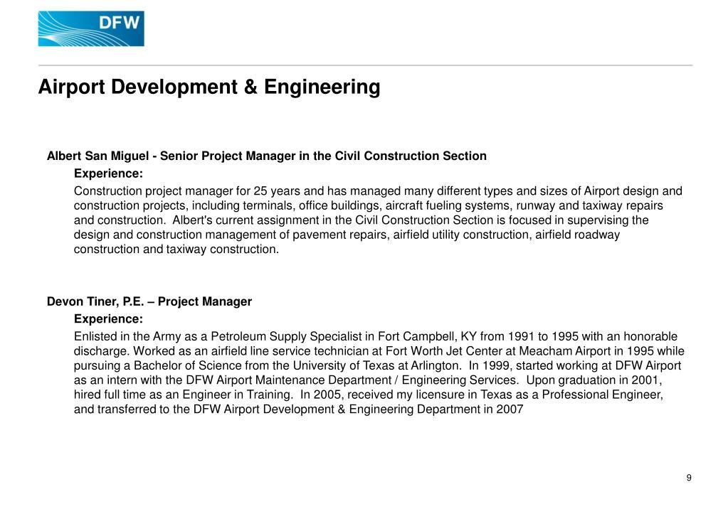Airport Development & Engineering