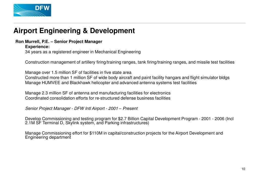 Airport Engineering & Development
