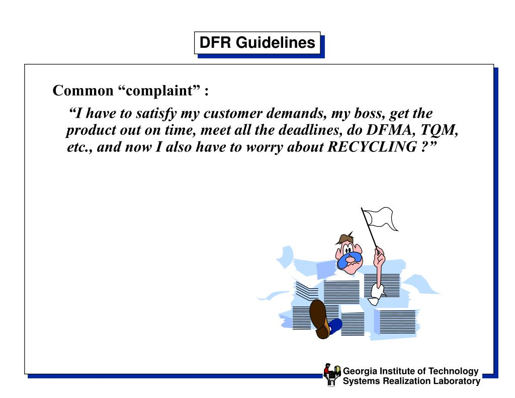 DFR Guidelines