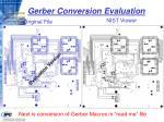 gerber conversion evaluation