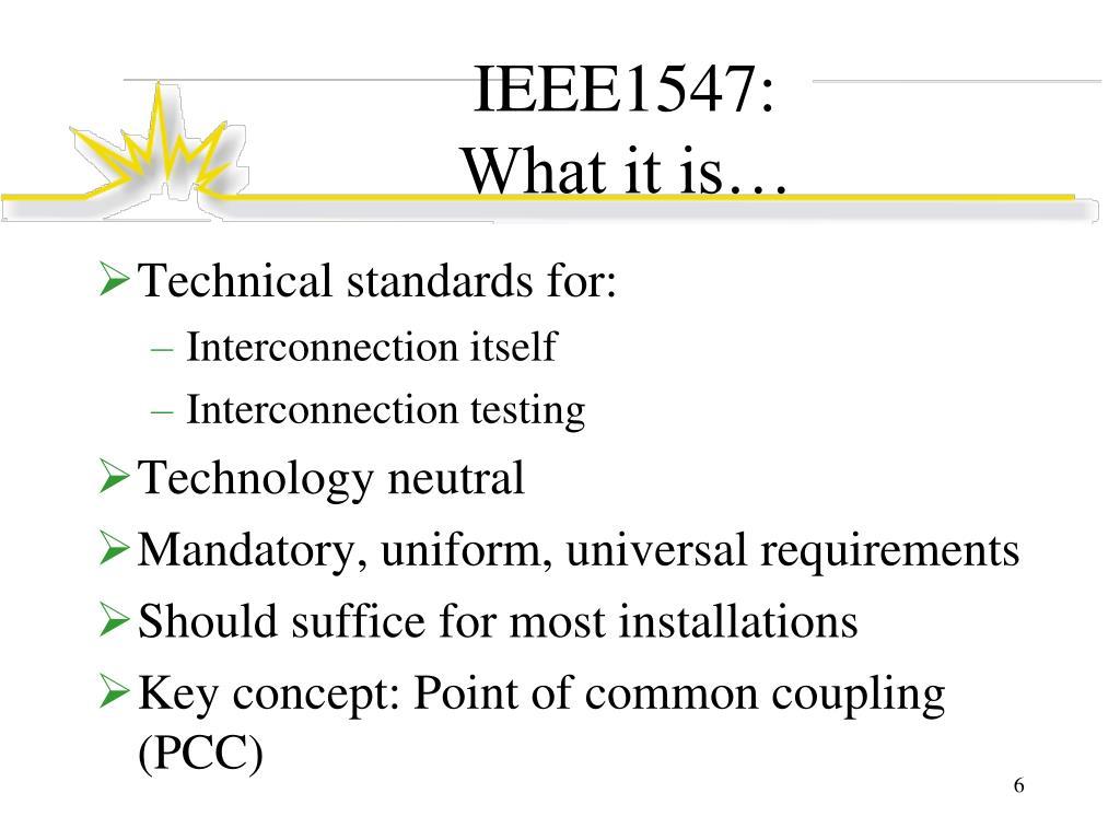 IEEE1547: