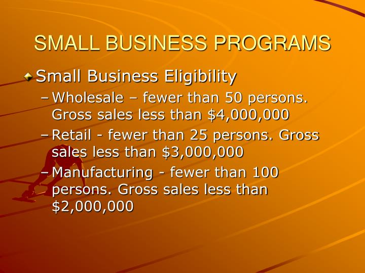 Small business programs3
